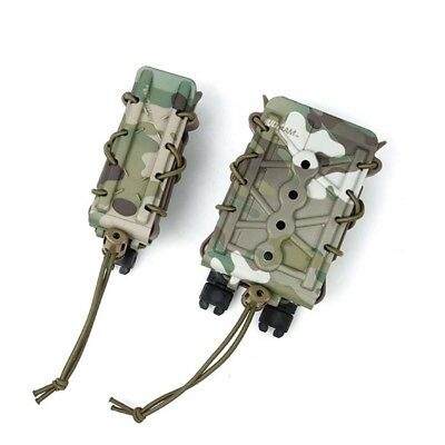 New TMC Nylon Outdoor Tactical Adjustable Single Clip Magazine Pouch Mag Set MC