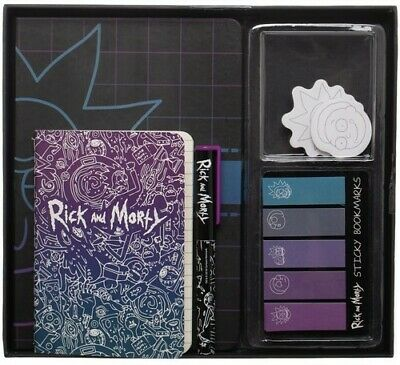 Rick & Morty Office Supply Set 2018, Book