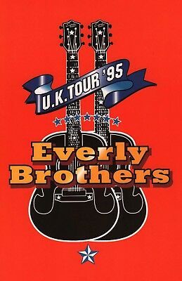 Everly Brothers (1995) Signed Autographs