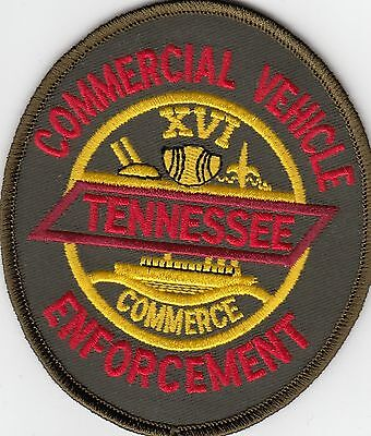 Tennessee Commercial Vehicle Enforcement State Police Patch Tn