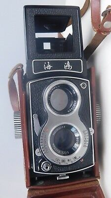 Vintage Seagull Camera in case