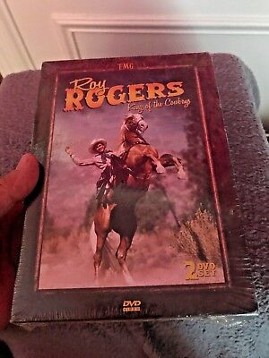 """SEALED Unopened """" ROY ROGERS King of the COWBOYS """" 2 DVD Set  ~ FREE SHIPPING"""