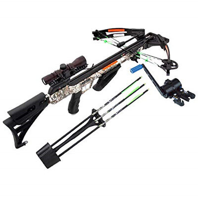 Carbon Express Crossbow X-Force Piledriver 390 Package with Crank Bolts #20310