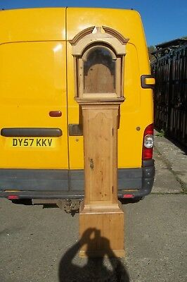 Antique Pine Longcase Grandfather Clock Case