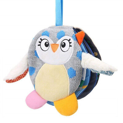 Soft Cloth Book Baby Toy Early Learning Education Owl Cloth Story Book  6A