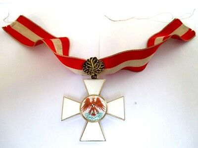Prussian Red Eagle Order - 2nd class with rare oak leaves