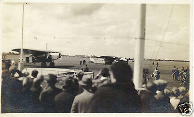 Vintage 1930s B&W Photograph MUNICH AIRPORT Germany