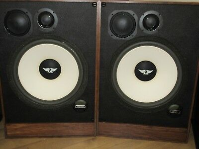 Pair of American Acoustics Labs AAL EQ15 Vintage Speakers Speaker New old stock
