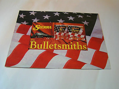 1989 Sierra The Bulletsmiths Brochure