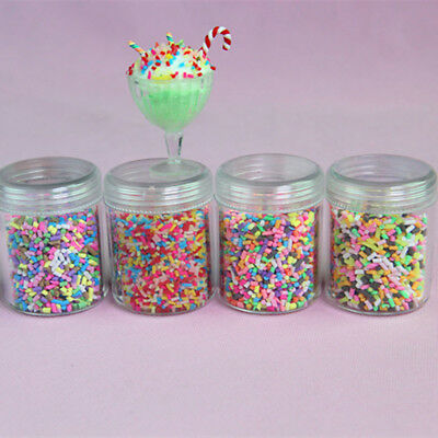 1 Box filler slime diy supplies candy dessert mud particles decoration toys TK