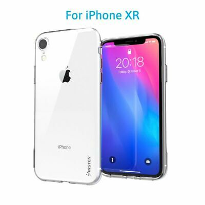 For Apple iPhone XR / XS Max Crystal Clear TPU Rubber Protective Candy Skin Case