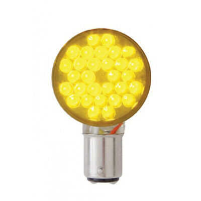 Right Angle 1156 Bulb With 30 Super Bright LEDs Amber and Clear