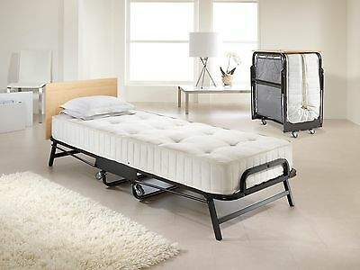 Jay Be Folding Guest Bed With Crown Premier Deep Sprung Mattress