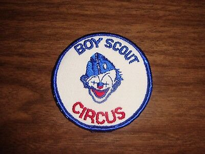 Boy Scout - Circus Patch - Pack of 12 New Vintage Patches