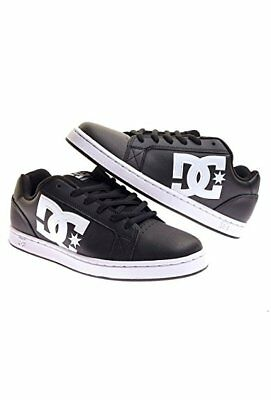 Scarpe DC SHOES SERIAL GRAFFIK nere da uomo skateboard in pelle 43 45 46  black 39392d6d935