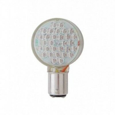 Super Bright 30 Diode Red LED 1157 Bulb Clear Lens With Right Angle