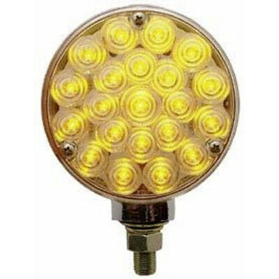 42 Diode LED Turn Signal Marker Light Double Face Amber and Red