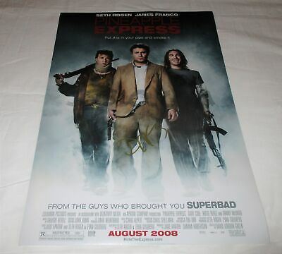 Danny Mcbride Signed Pineapple Express 12X18 Movie Poster