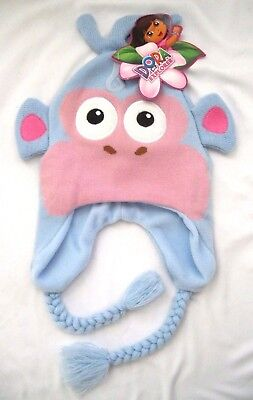 Dora the Explorer Boots Laplander Peruvian Hat Cap Licensed Brand New with Tags!