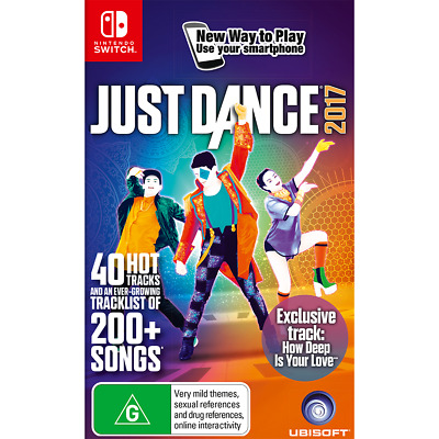 Just Dance 2017 - Nintendo Switch - PREOWNED