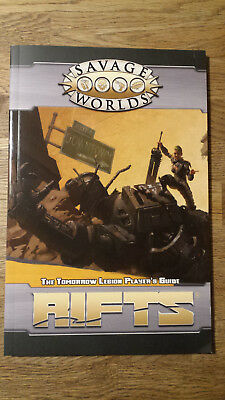 Savage Worlds Rifts – The Tomorrow Legion Player's Guide