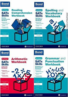 Bond Age 10-11 Ks2 Sats English & Maths Core Revision Practice Workbook £3.63