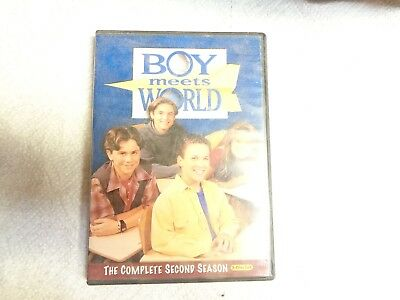 "USED DVD Movie  ""BOY meets World"" The Complete Second  Season 3-Disc set  ""GU"""