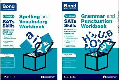 Bond Ks2 Sats Ages 10-11 Advanced English Revision Practice Workbooks