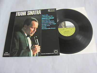 Lp-Frank Sinatra - Same-Club Edition - Deutscher Schallplattenclub-1967