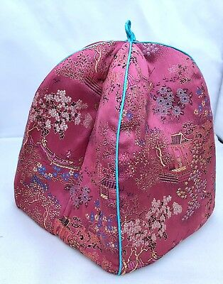 Beautiful Vintage Chinese Embroidered Tea Cosy Padded