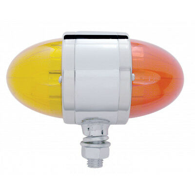 United Pacific 39798 Watermelon Style LED Double Face Aux/Cab Light Amber/Red