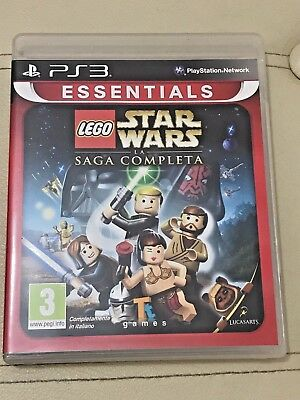 LEGO Star Wars La Saga Completa - PS3 - PlayStation 3 - COME NUOVO