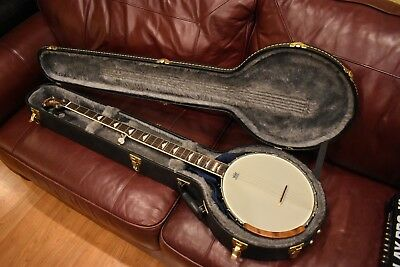 BANJO GOLD TONE WL250+ White Lady 5-string open back
