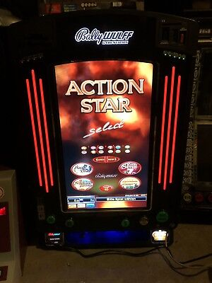 action Star Select Geld-Spielautomat Euro Bally Wulff
