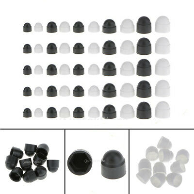 Business Industrial Hex Nuts 10 Pcs 4 Types Black Dome Bolt Nut Protection Caps Cover Hex Hexagon Plastic I2 Studio In Fine Fr