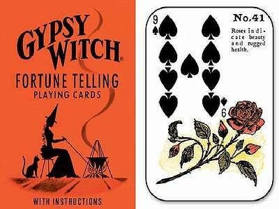 Tarot Playing Cards Tell Fortune Halloween Gypsy Witch Deck US Games GW10