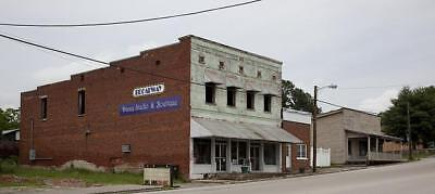 Commercial Buildings,Heyday of Downtown,Cherokee,Colbert County,Alabama,2010,2