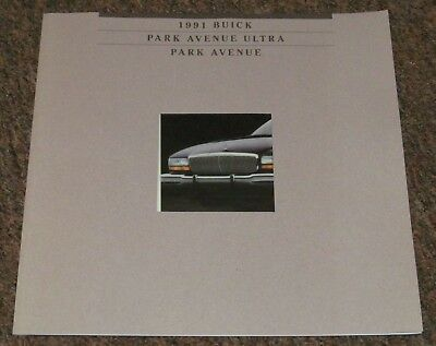 1991 Buick Park Avenue Press Kit and Sales Catalog