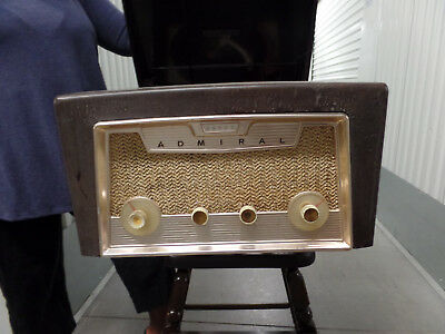 Vintage Bakelite 1950's ADMIRAL Ensign RC600 HI-FI Stereo Console TURNTABLE
