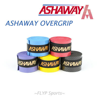 Ashaway Overgrip New Racket Racquet Grip Tennis Badminton Squash Overwrap Rep...