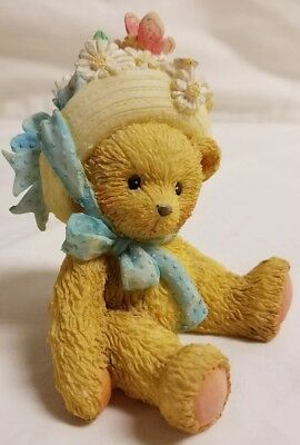 Cherished Teddies Bear Figurine Daisy Friendship Blossoms Love Signed 910651