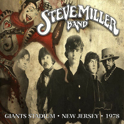 The Steve Miller Band : Giants Stadium, New Jersey, 1978 CD (2016) ***NEW***