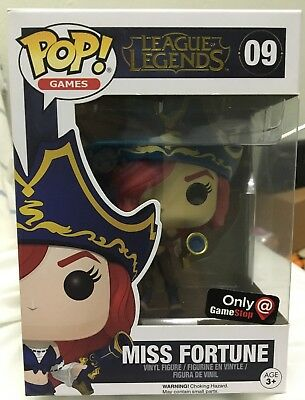 Funko Pop - Miss Fortune (League Of Legends) Gamestop Exclusive
