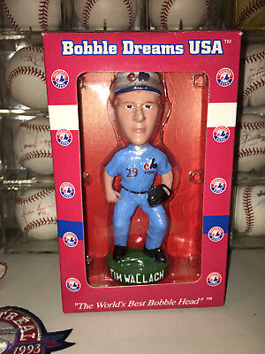 Montreal Expos 2003 Sga Tim Wallach Bobble Head Rare 2151/5000 Dodgers Nodder