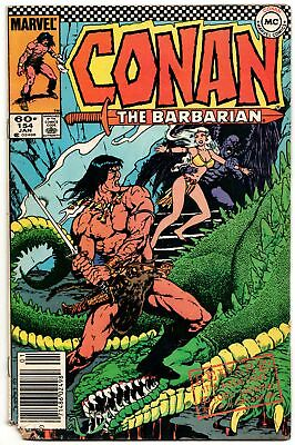 Conan The Barbarian #154 (Marvel, 1984) GD/VG