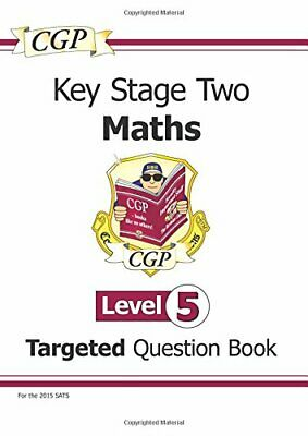 KS2 Maths Question Book: Level 5 - for SATS until 201... by Books, Cgp Paperback