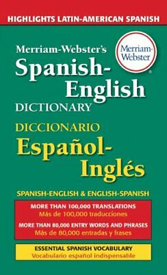 Merriam-Webster's Spanish-English Dictionary by Merriam-Webster Paperback Book