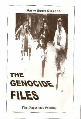 The Genocide Files by Harry Scott Gibbons Book The Cheap Fast Free Post