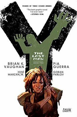 Y: The Last Man Book Two TP by Brian K Vaughan Book The Cheap Fast Free Post