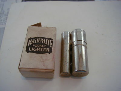 Vintage Master Lite Lighter Flameless Catalytic Most Of Box